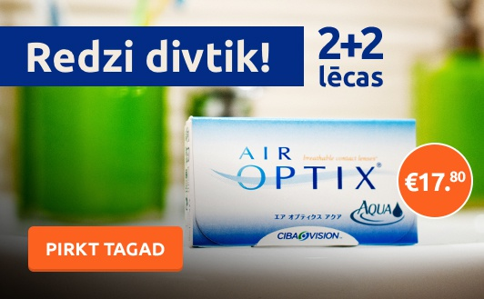 Wow! Air Optix Aqua 2+2 par 17,80€