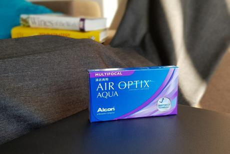 Air Optix Aqua Multifocal Alcon Multifokālās kontaktlēcas