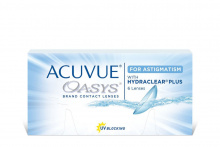 Acuvue Oasys for Astigmatism abonements Johnson & Johnson Kontaktlēcu abonements