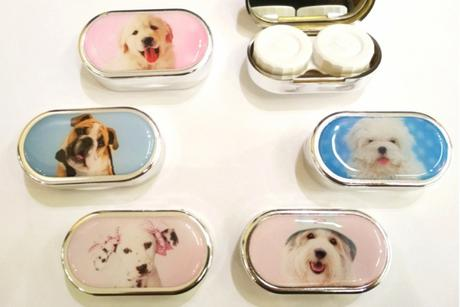 Contact lens case DOG B&S Futlāri
