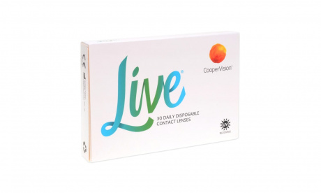 LIVE daily disposable Cooper vision Однодневные