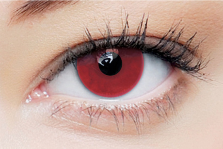 Clearcolor 1day phantom Red Vampire Clearlab Crazy daily disposable contact lenses