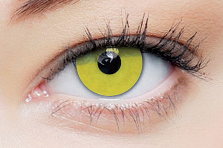Clearcolor 1day phantom Zombie Yellow Clearlab Crazy daily disposable contact lenses