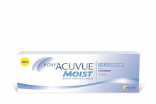 1 - Day Acuvue MOIST for ASTIGMATISM Johnson & Johnson Toriskās kontaktlēcas