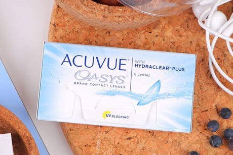 Acuvue Oasys Johnson & Johnson Monthly disposable