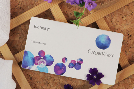 Biofinity Cooper vision Monthly disposable