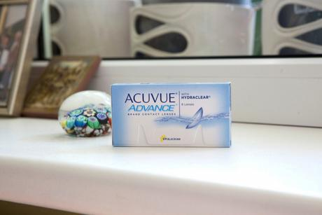 Acuvue Advance with Hydraclear Johnson & Johnson Mēneša kontaktlēcas
