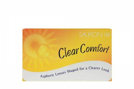 Sauflon 55 UV Clear Comfort Sauflon Monthly disposable