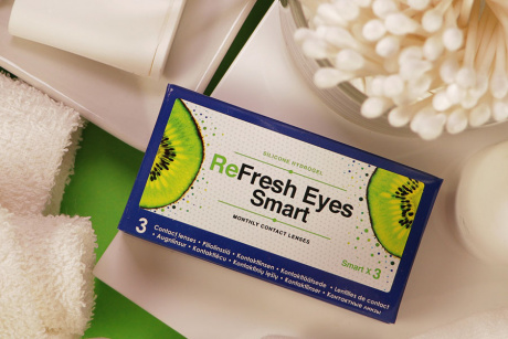 ReFresh Eyes Smart monthly Piiloset Mēneša kontaktlēcas
