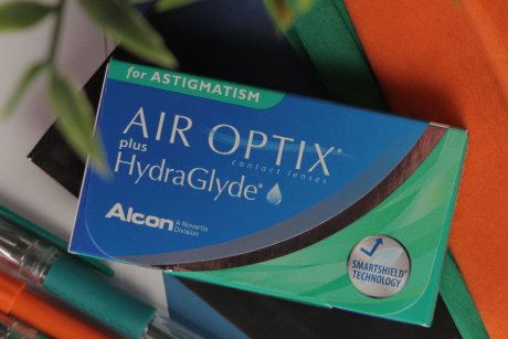 Air Optix for Astigmatism Alcon Toriskās kontaktlēcas