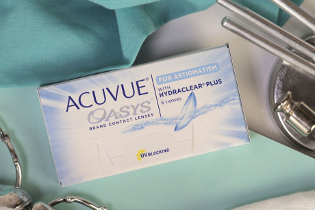 Acuvue Oasys for Astigmatism Johnson & Johnson Toric