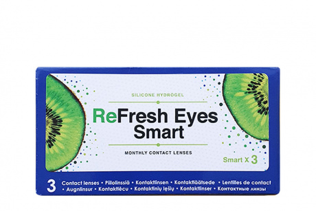 Абонемент на Refresh Eyes Smart monthly  Manaslecas.lv Kontaktlēcu abonements