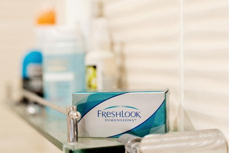 Freshlook Dimensions Alcon Coloured