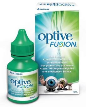 OPTIVE Fusion Allergan Pharmaceuticals Acu mitrinošie pilieni