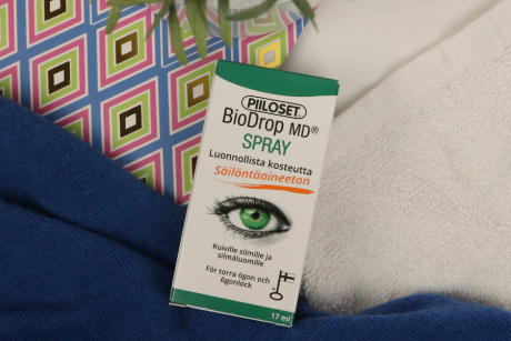 BioDrop MD Spray with sea buckthorn oil Piiloset Eye drops