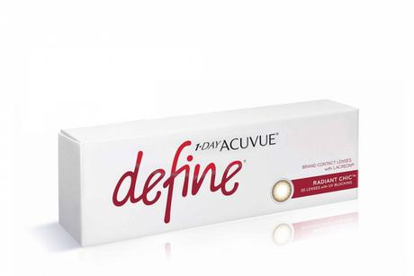 1-Day ACUVUE define Johnson & Johnson Daily disposable